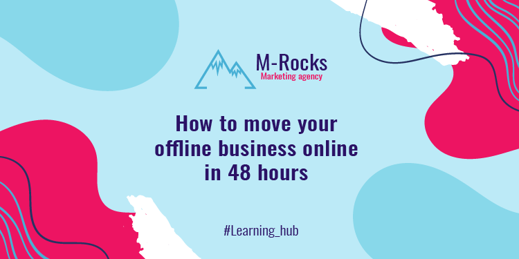 move your business online in 48 hours